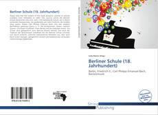 Bookcover of Berliner Schule (18. Jahrhundert)