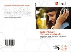 Berliner Schule (Elektronische Musik) kitap kapağı