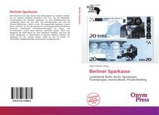 Capa do livro de Berliner Sparkasse