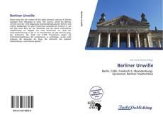 Berliner Unwille kitap kapağı
