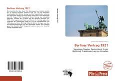 Buchcover von Berliner Vertrag 1921