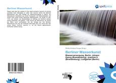 Bookcover of Berliner Wasserkunst