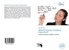 Bookcover of Weyl'S Lemma (Laplace Equation)