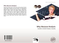 Bookcover of Why–Because Analysis