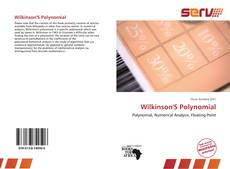 Bookcover of Wilkinson'S Polynomial