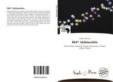 Capa do livro de 8047 Akikinoshita