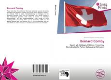 Bernard Comby kitap kapağı