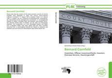 Portada del libro de Bernard Cornfeld