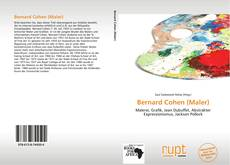Couverture de Bernard Cohen (Maler)