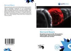 Capa do livro de Bernard Baars