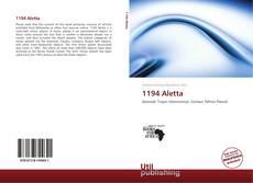 Bookcover of 1194 Aletta