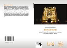 Portada del libro de Bernard Barsi