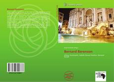 Bookcover of Bernard Berenson