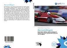 Bookcover of Bernard Béguin
