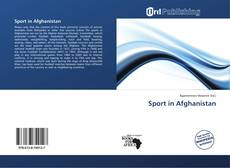 Bookcover of Sport in Afghanistan