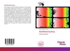 Antifeminismus kitap kapağı