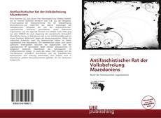 Capa do livro de Antifaschistischer Rat der Volksbefreiung Mazedoniens