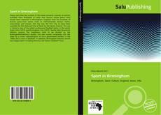 Bookcover of Sport in Birmingham