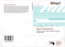 Sport in Bratislava的封面