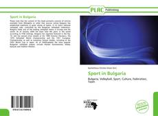 Sport in Bulgaria kitap kapağı