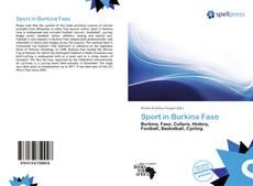 Borítókép a  Sport in Burkina Faso - hoz