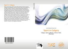 Bookcover of Sport in Calgary