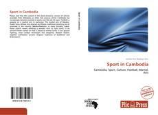 Bookcover of Sport in Cambodia