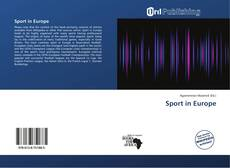 Bookcover of Sport in Europe