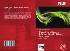 Buchcover von Nava, Saare County, Estonia, County, Lääne, Saaremaa