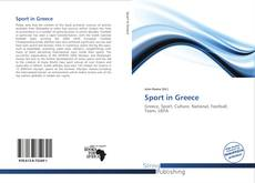 Capa do livro de Sport in Greece