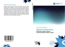 Bookcover of Sport in Guernsey
