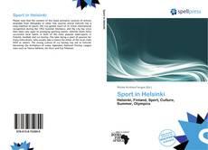 Bookcover of Sport in Helsinki