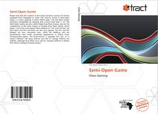 Capa do livro de Semi-Open Game