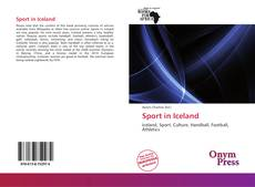 Bookcover of Sport in Iceland