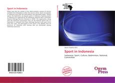 Bookcover of Sport in Indonesia