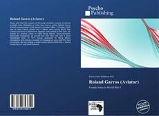 Capa do livro de Roland Garros (Aviator)