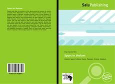 Bookcover of Sport in Jhelum
