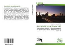 Portada del libro de California State Route 145