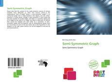 Capa do livro de Semi-Symmetric Graph