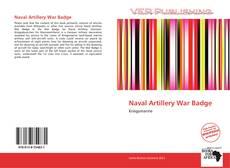 Buchcover von Naval Artillery War Badge