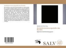 Buchcover von Antidiskriminierungsstelle des Bundes