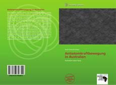 Bookcover of Antiatomkraftbewegung in Australien