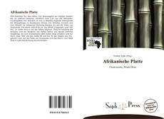Borítókép a  Afrikanische Platte - hoz