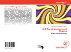 Bookcover of Anti Fraud Management System