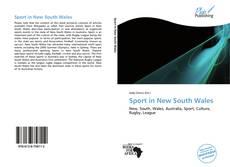 Capa do livro de Sport in New South Wales