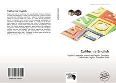 Bookcover of California English