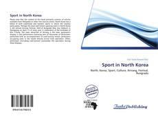 Portada del libro de Sport in North Korea