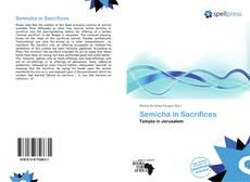 Bookcover of Semicha in Sacrifices