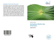 Capa do livro de Antiphos (Sohn des Priamos)