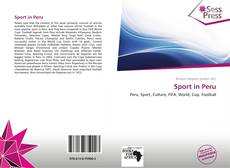 Bookcover of Sport in Peru